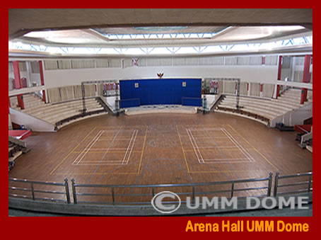 Arena Hall UMM Dome lanscape