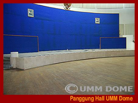 Panggung permanen Hall UMM Dome